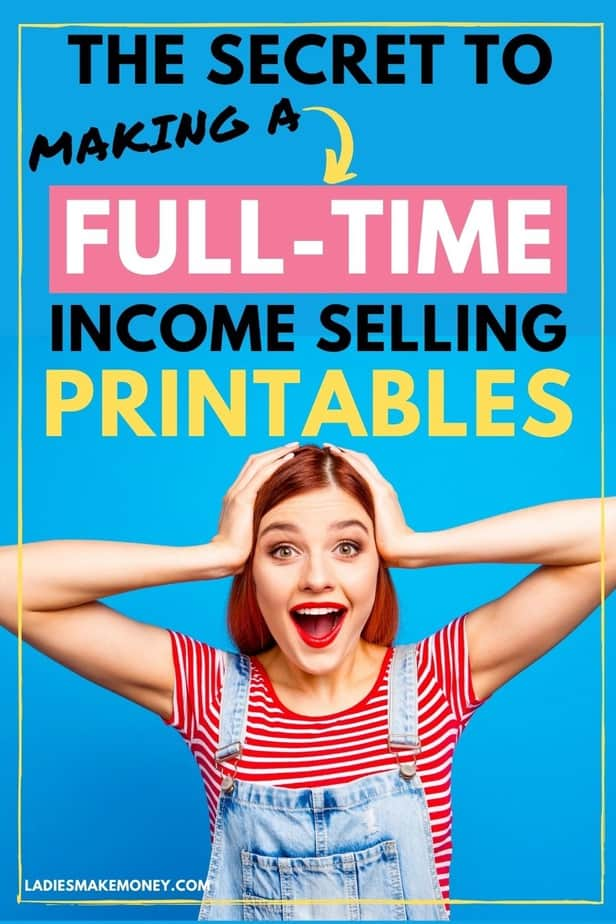 Printables by number course review. If you want to make money selling Printables online, you need this course. The Printables by Number course teaches you how to create small digital products, like printables, so you can grow your email list and sell them online!
