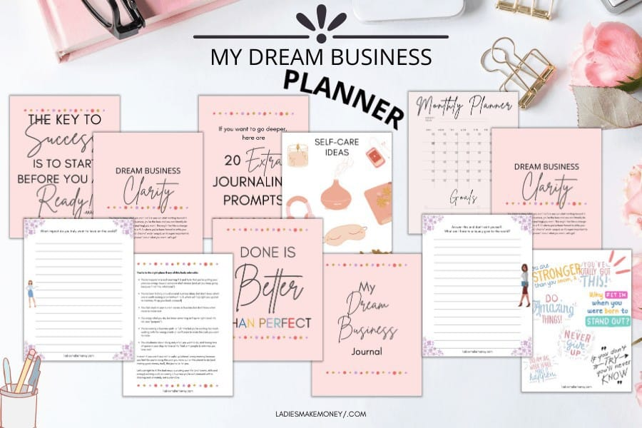 Grab my dream business planner today!