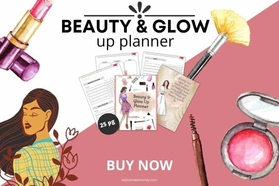 Grab this beauty and glow up planner to create the life you want
