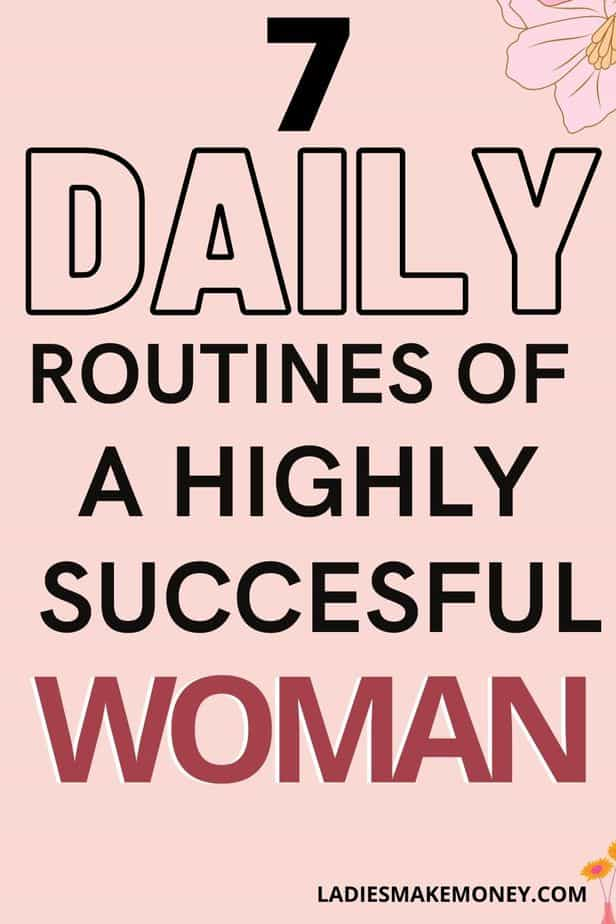 If you are looking for the perfect daily routine of a successful woman, look no further than us. These 8 morning habits of successful women are things that are simple and easy to incorporate into your daily routine! These rituals will help you to live your best, most successful life! Click through to find out about these 8 life-changing habits. #personaldevelopment #success #productivitytips