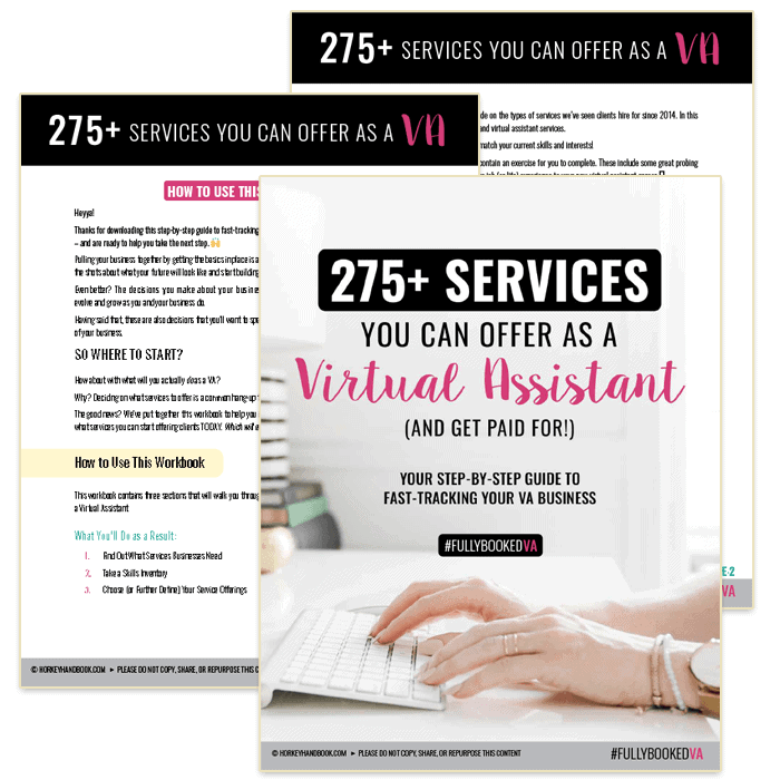 Here are services you can offer and get paid for as a virtual assistant today.