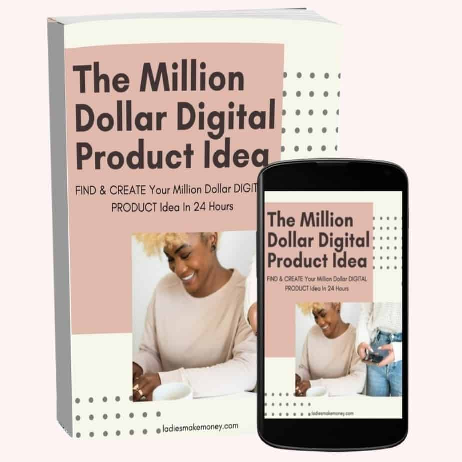 Million Dollar Digital Product. Create digital product that make money over and over.