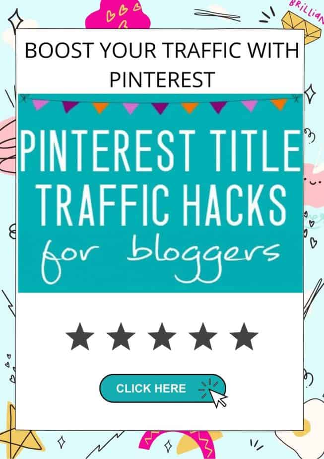Pinterest title hacks for bloggers to boost traffic today!