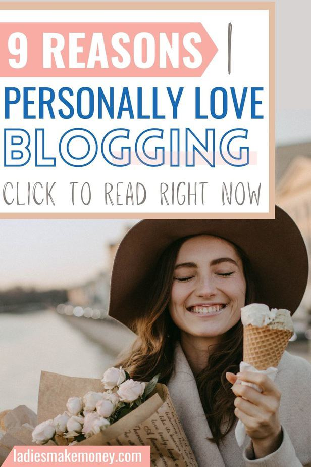 Here are the reasons I love blogging and why you should consider starting a blog too. I share inspiring reasons why I love blogging and what doors blogging has opened up for me! If you want to start a blog, here's why you should start a profitable blog today! You will love blogging.